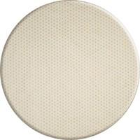 Rond Tafelkleed Gecoat Jacquard - 160 cm - Sterren Wit/Zilver