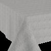 MixMamas Tafelkleed Gecoat Jacquard Seamless Hexagon 140 x 300 cm  Grijs