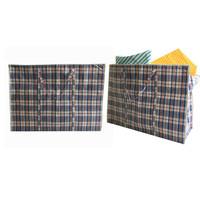 Big Shopper / Opbergtas / Waszak XL - 70 x 50 cm - Multipack 10 stuks - Blauw