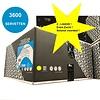 MixMamas Dispenser Servetten - Navulling servethouder 3600 stuks - Zwart - Gracias