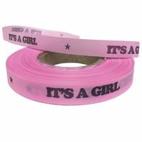 Bonfim Geboorte lint Roze  It's a Girl