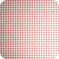Papieren Tafelkleed 50 stuks Ruit Rood/Wit