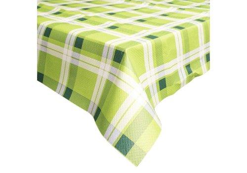 Papieren Tafelkleed 50 stuks Retro groen
