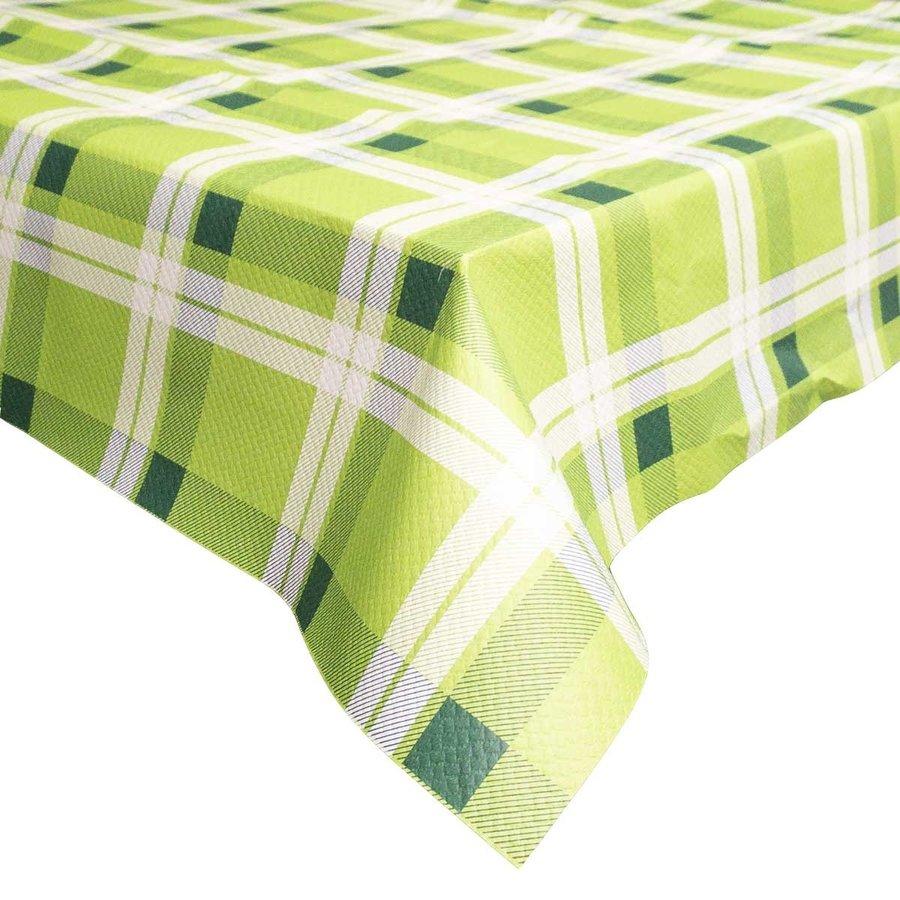 Retro Papieren Tafelkleed 50 stuks Groen