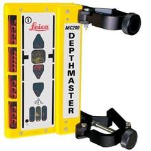 Leica  MC200 Depthmaster (Maschinenempfänger) mit Klemmhalterung