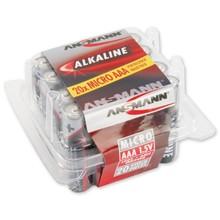 Ansmann Alkalische AAA-Box 20 Stück