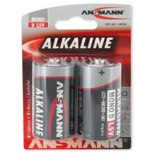 Ansmann Alkaline D-cell 2pcs.