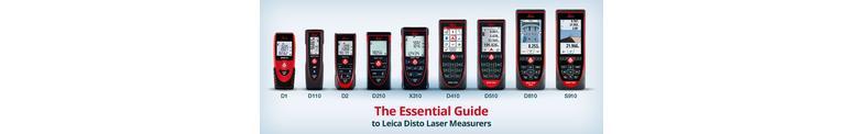 Afstandsmeters van Leica de meest geavanceerde op de markt.