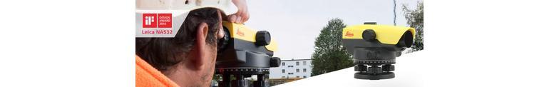 Waterpasinstrumenten voor de Bouw,  Wegenbouw en Industrie