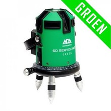 ADA  6D SERVOLINER GREEN 8-LIne laser with Li-ion batterie