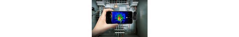 Warmtebeeld camera's voor Smartphone