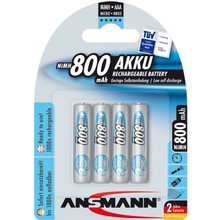 Ansmann NiHM AAA 800 mAh Blister of 4 pieces