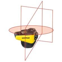ProNivo Roterende PNRLR 3D laser  met 3 roterend koppen rood