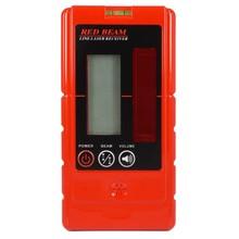 OMTools LD200 handontvanger met display voor rode lijnlasers