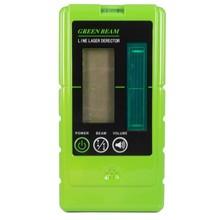 OMTools LD200G handontvanger met Display voor groene  Lijnlasers