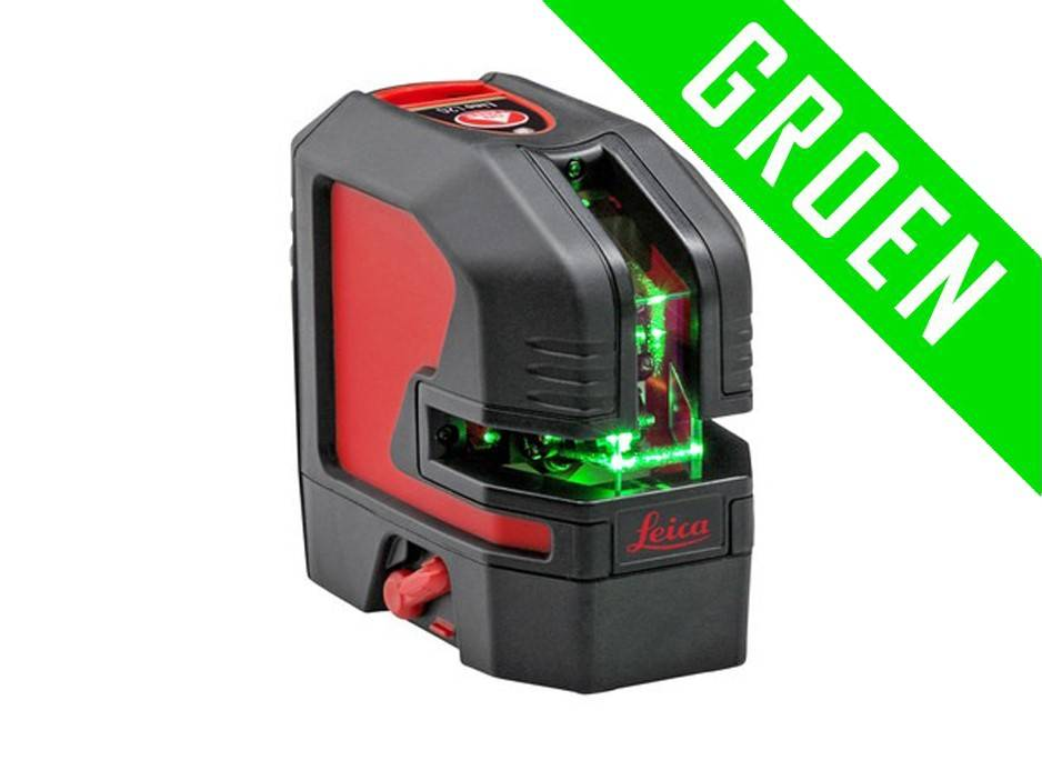 Leica  Lino L2P5G green crossline laser with 5 dots