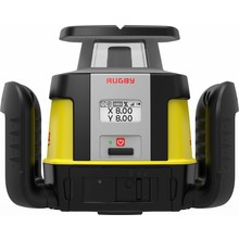 Leica  Rugby CLH & CLX300 software, incl. Combo receiver, manual single slope adjustable laser (Rugby 670)