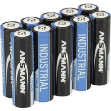 Ansmann Industrial AA Lithium  battery  1,5V upto 300% more power than Alkaline