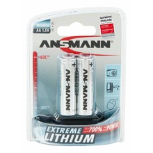 Ansmann Lithium AA Extreme  battery  1,5V upto 300% more power than Alkaline