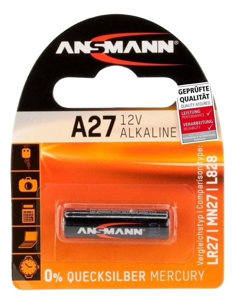 Ansmann A27 Alkaline battery 12 Volts
