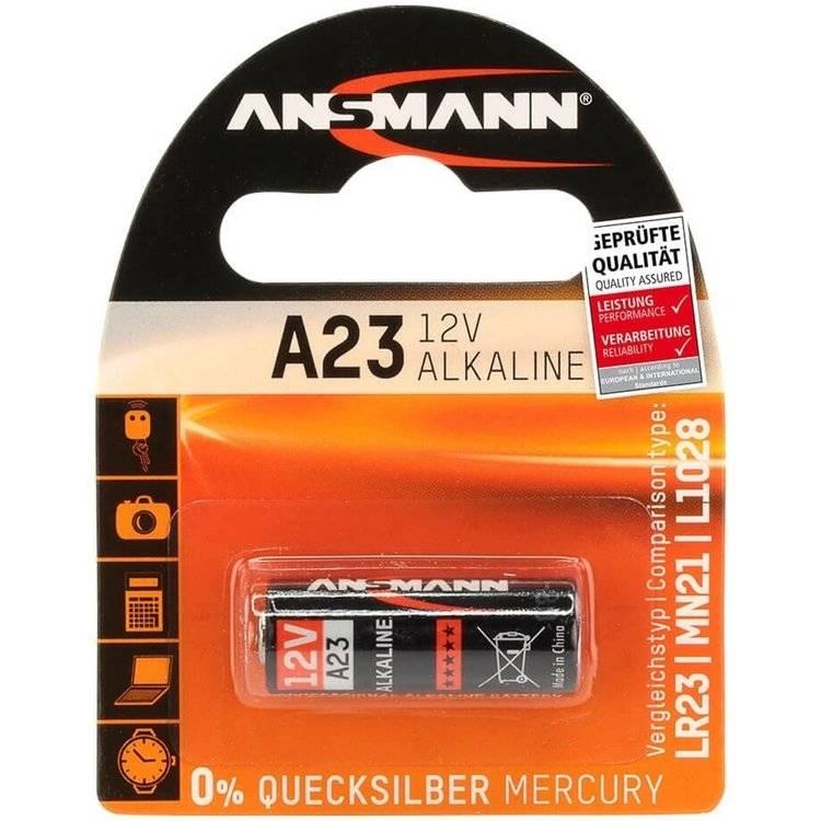 Ansmann A23 Alkaline batterij 12 Volt