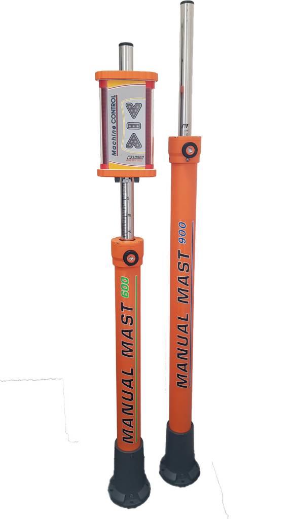 Mast 900, Uitschuifbare mast van 158 tot 248 cm
