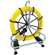 Runpotec RUNPO Profi-set Fiberglass pull cord Ø 6mm, 40-80m incl. reel