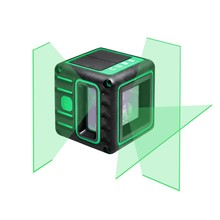 ADA  NEW: CUBE 3D Green including mini tripod and pouch
