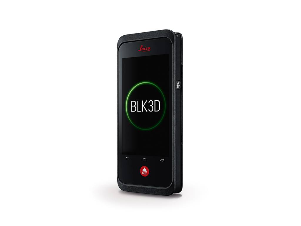 Leica  BLK3D realtime measurment in a picture