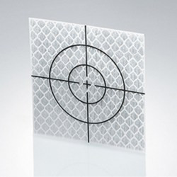 OMTools Measuring sticker or reflecting target 50x50mm sheet of 15 pieces