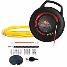 Runpotec Power Rex 30 Trekveer met 30 meter ø 3mm glasvezel pees