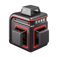 ADA  CUBE 3-360 Basic RED with 3x360° red lines