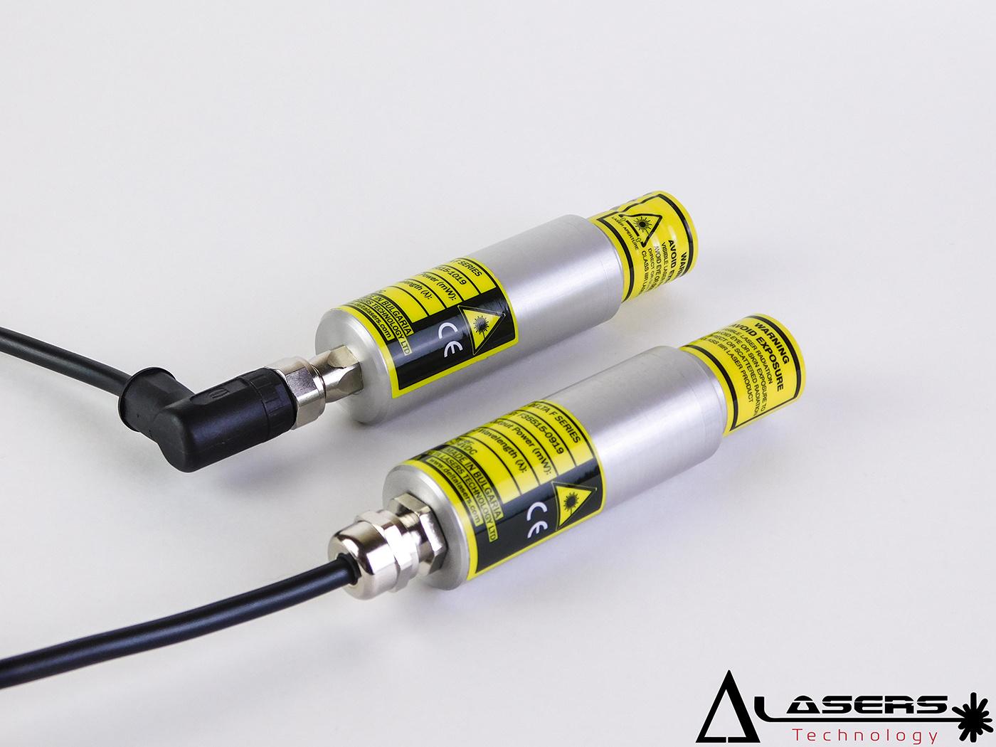 Delta Lasers Industrie  lijnlaser rood 120 mw 638 nm Class 3R, IP54