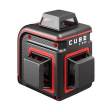 ADA  CUBE 3-360 Proffessional Edition rode Lijnlaser met 3x360° rode lijnen