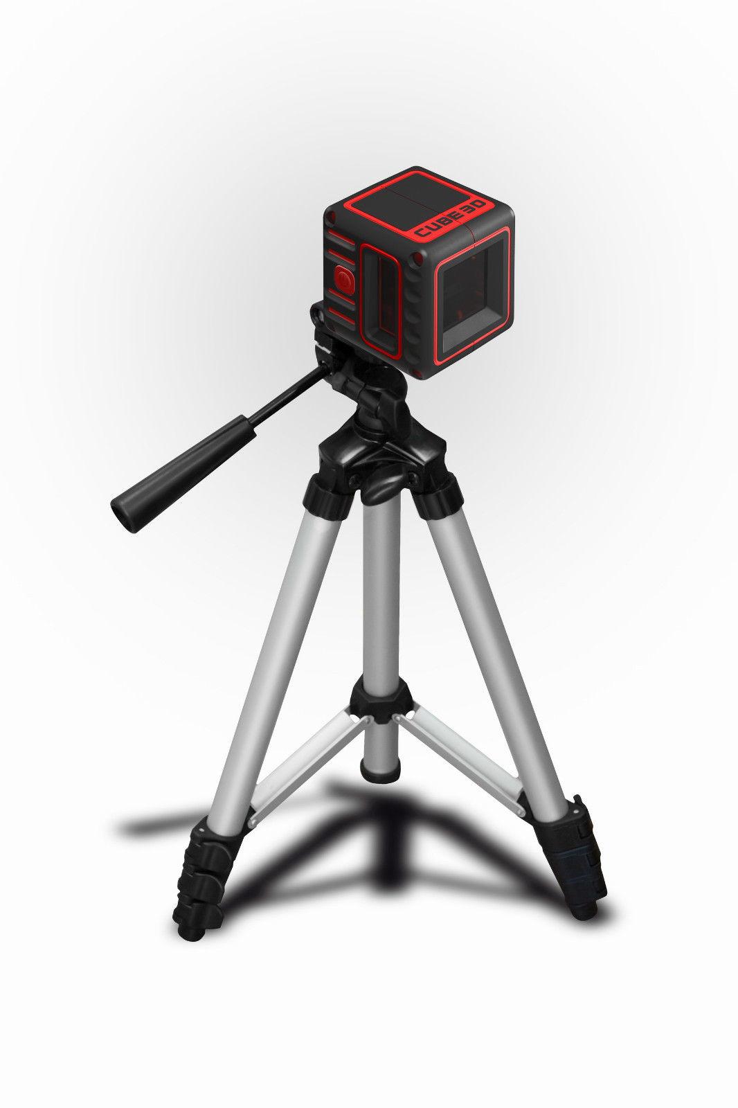 ADA  CUBE Professional kruislijn laser incl.statief in foudraal