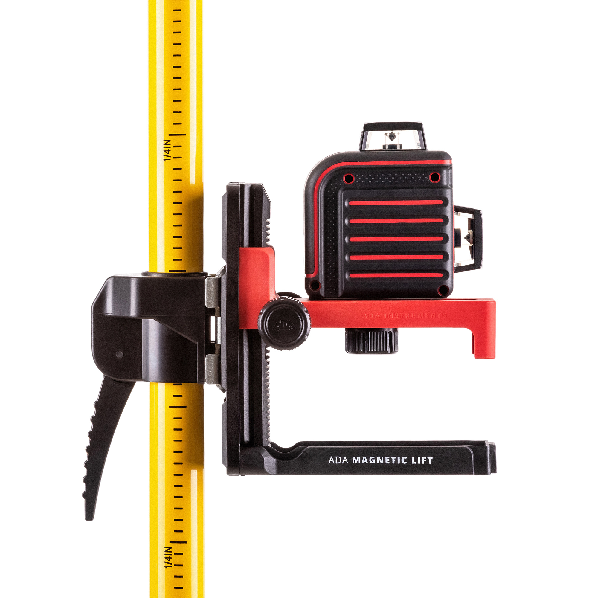 ADA  SilverPlus pole stand up to 360 cm with magnetically adjustable wallmount