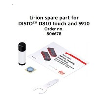 Leica  Disto D810-S910 Li-ion Spare part replacement  battery