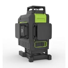 OMTools LP463G 4D 4x360° lijnlaser groen  in Koffer met afstandsbediening