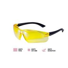 ADA  Gele veiligheidsbril VISOR CONTRAST