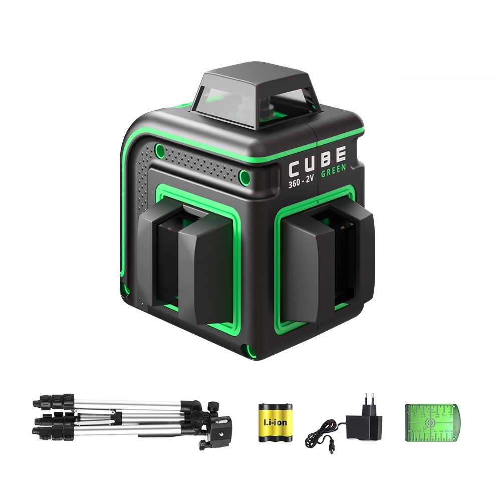 ADA  Cube 360-2V Professional Edition Green
