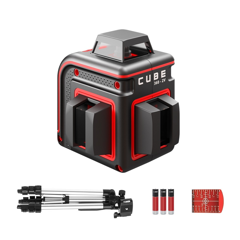 ADA  Cube 360-2V Professional Edition red