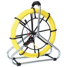 Runpotec RUNPO Standard Fiberglass pull cord Ø 6mm, 40-80m incl. reel