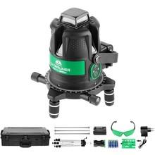 ADA  UltraLiner 4V Green SET  cross line laser 5 lines green including Tripod