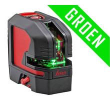 Leica  Lino L2G Set zeer heldere groene kruislijnlaser in koffer
