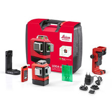 Leica  Leica Lino L6G-1 – 3x360° green line laser Set in case with Li-Ion batteries