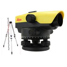 Leica  NA532  Waterpasinstrument met 32x vergroting SET