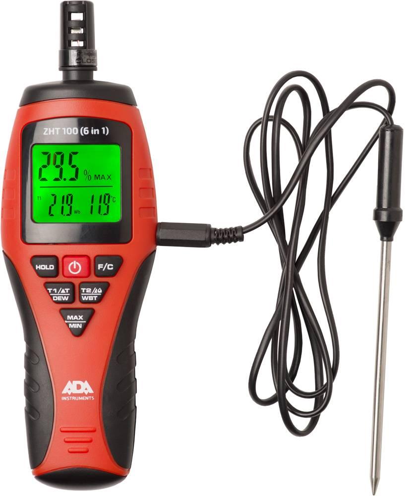 ADA  ZHT 100 (6 in 1) moisture meter