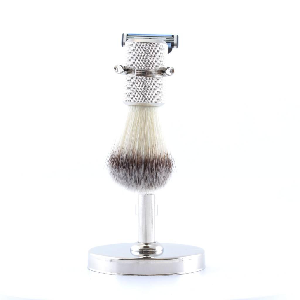 Luxe Fusion Scheerset Zilver Synthetisch