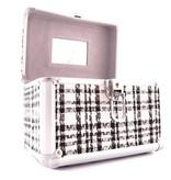 Beautycase Set Ruit 3 stuks- Zwart/Wit