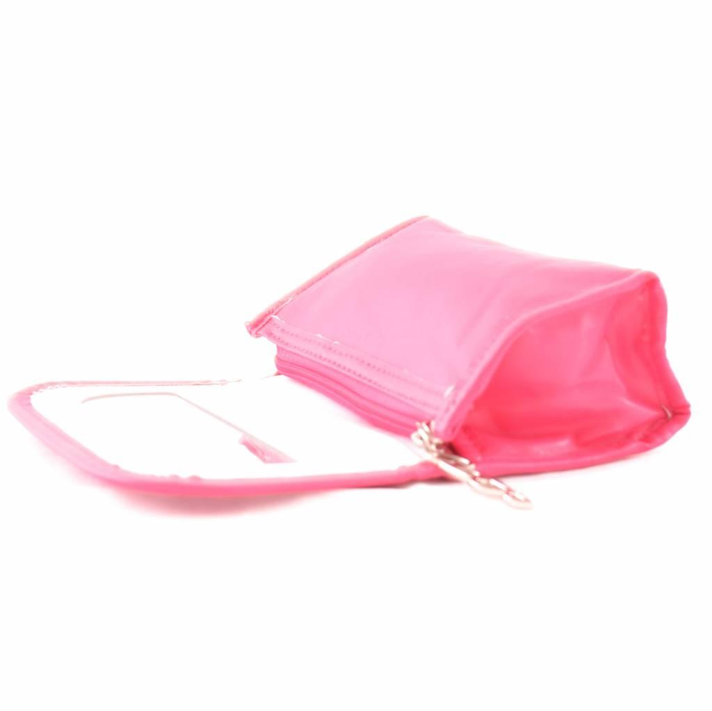 Spiegel Tasje Uni Roze
